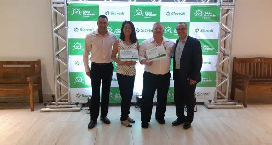 Naoki Sistemas de Gestão da Qualidade e Empresarial Ltda. recebe Título de Sócia Fundadora SICRED
